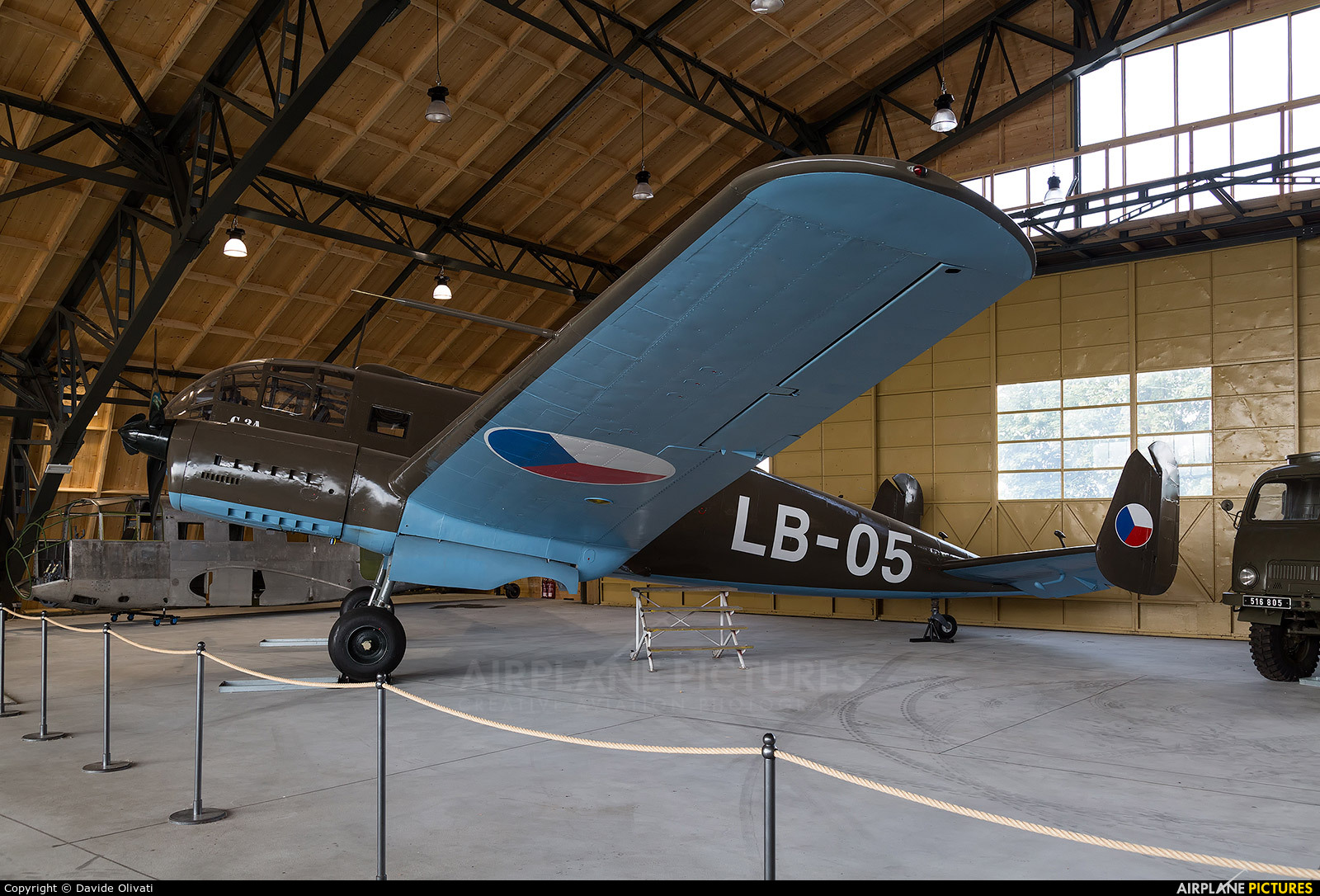 Czechoslovak - Air Force LB-05 aircraft at Prague - Kbely, Letecké muzeum