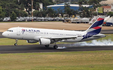 PR-MHW - LATAM Brasil Airbus A320