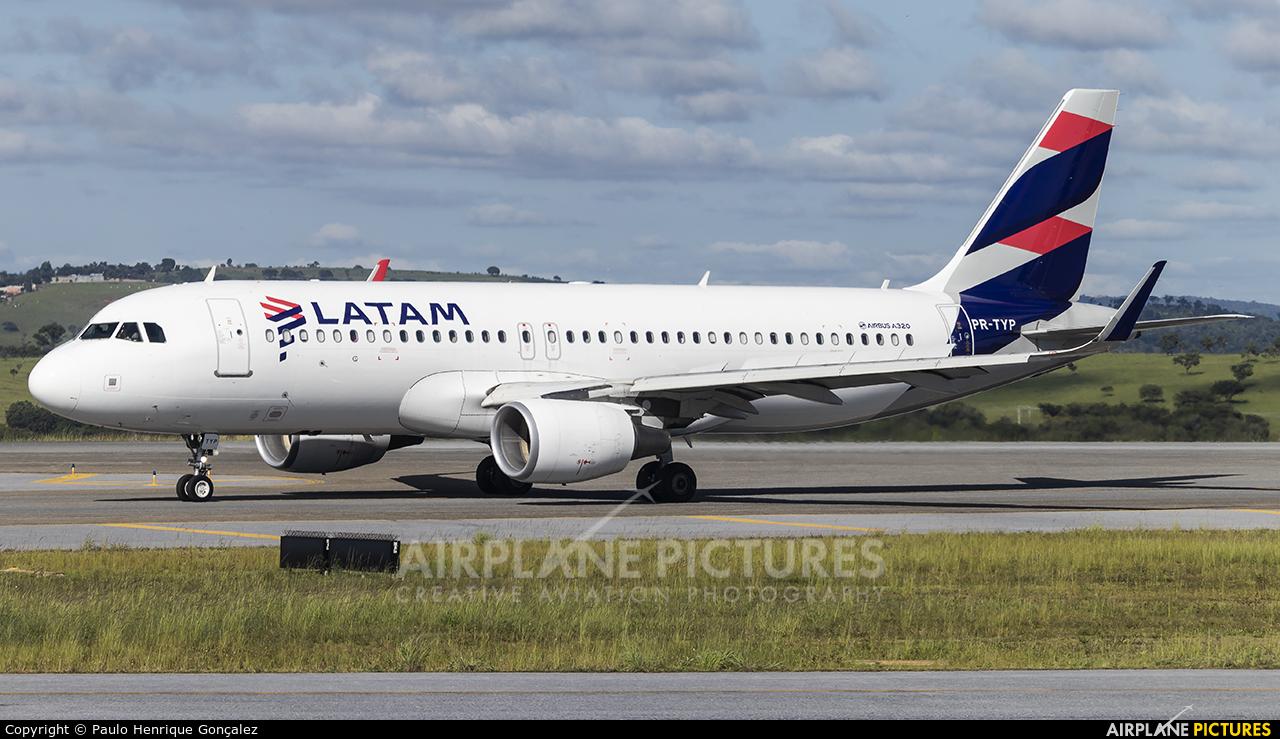 LATAM Brasil PR-TYP aircraft at Belo Horizonte - Tancredo Neves