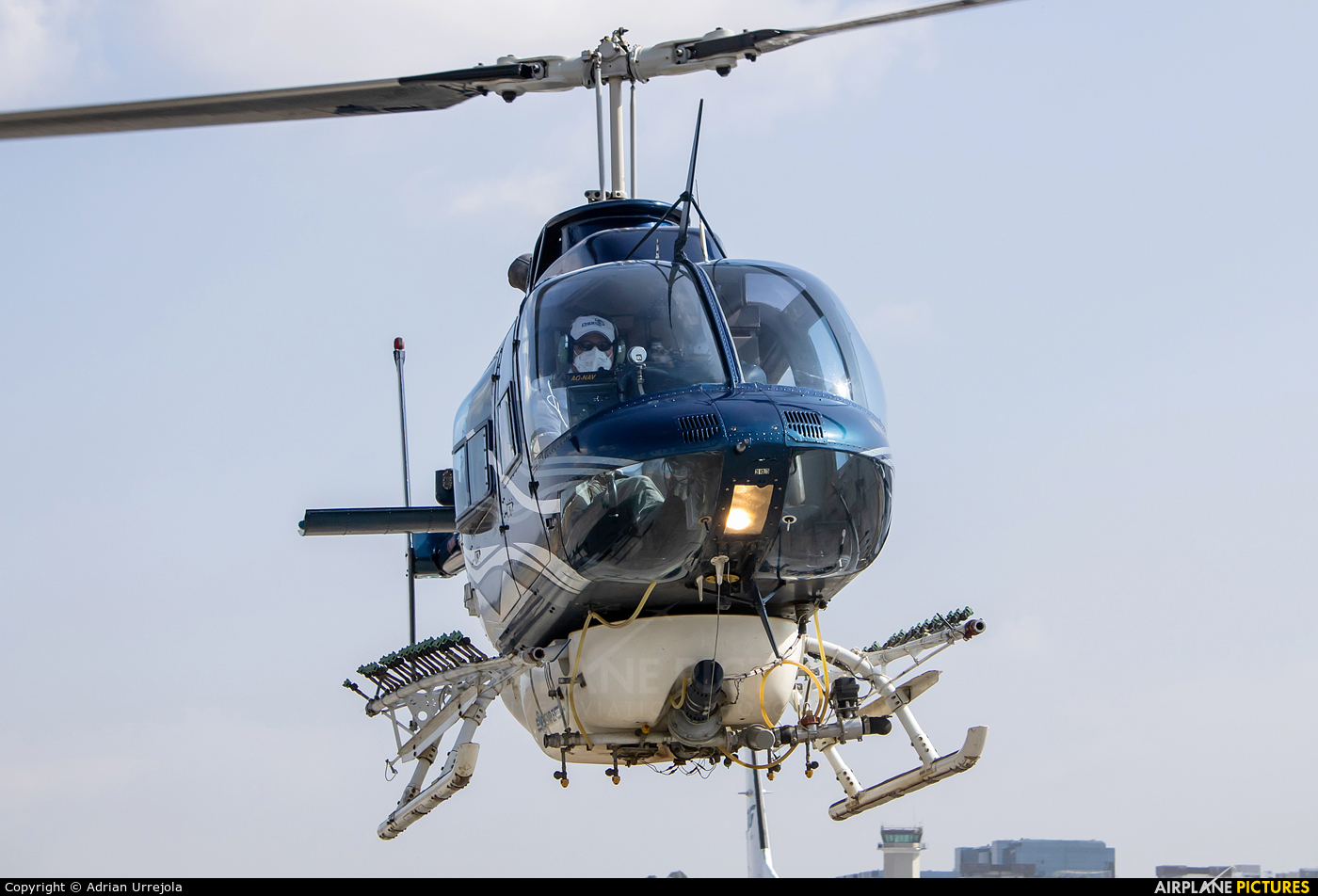 Bell Air Helicopters TG-CHE aircraft at Guatemala - La Aurora