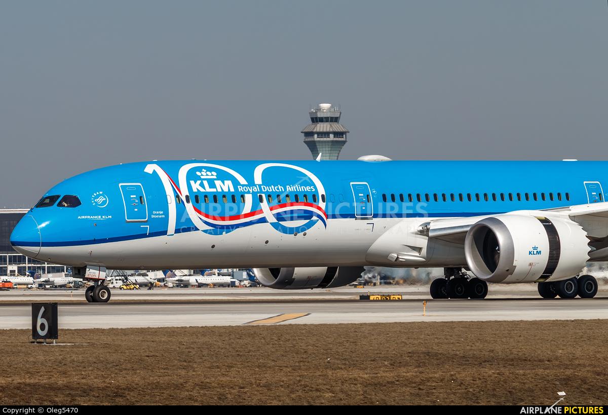 KLM PH-BKA aircraft at Chicago - O Hare Intl