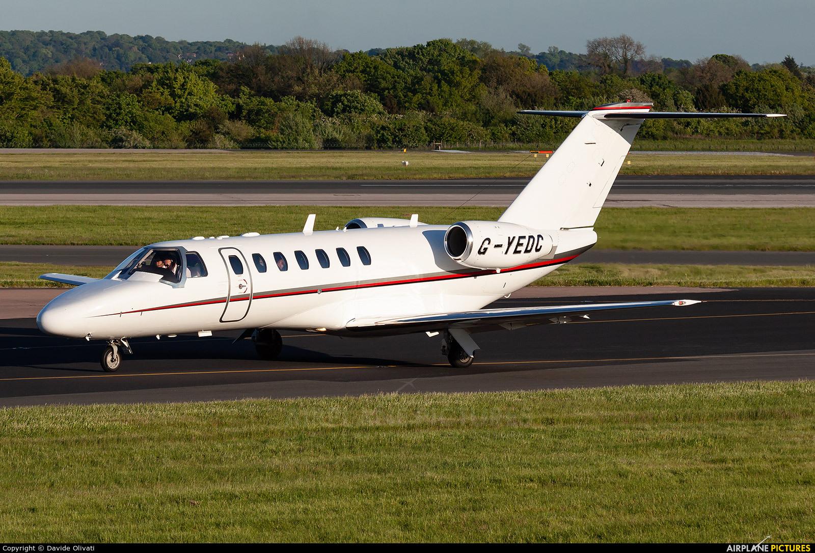 Air Charter Scotland G-YEDC aircraft at Manchester