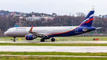 VP-BKJ - Aeroflot Airbus A321 aircraft