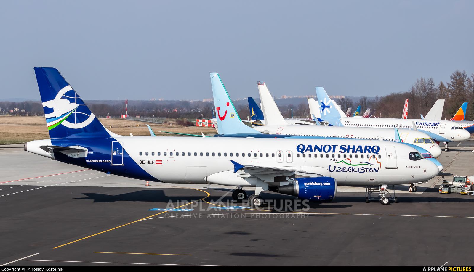Air Lease Corporation OE-ILF aircraft at Ostrava Mošnov