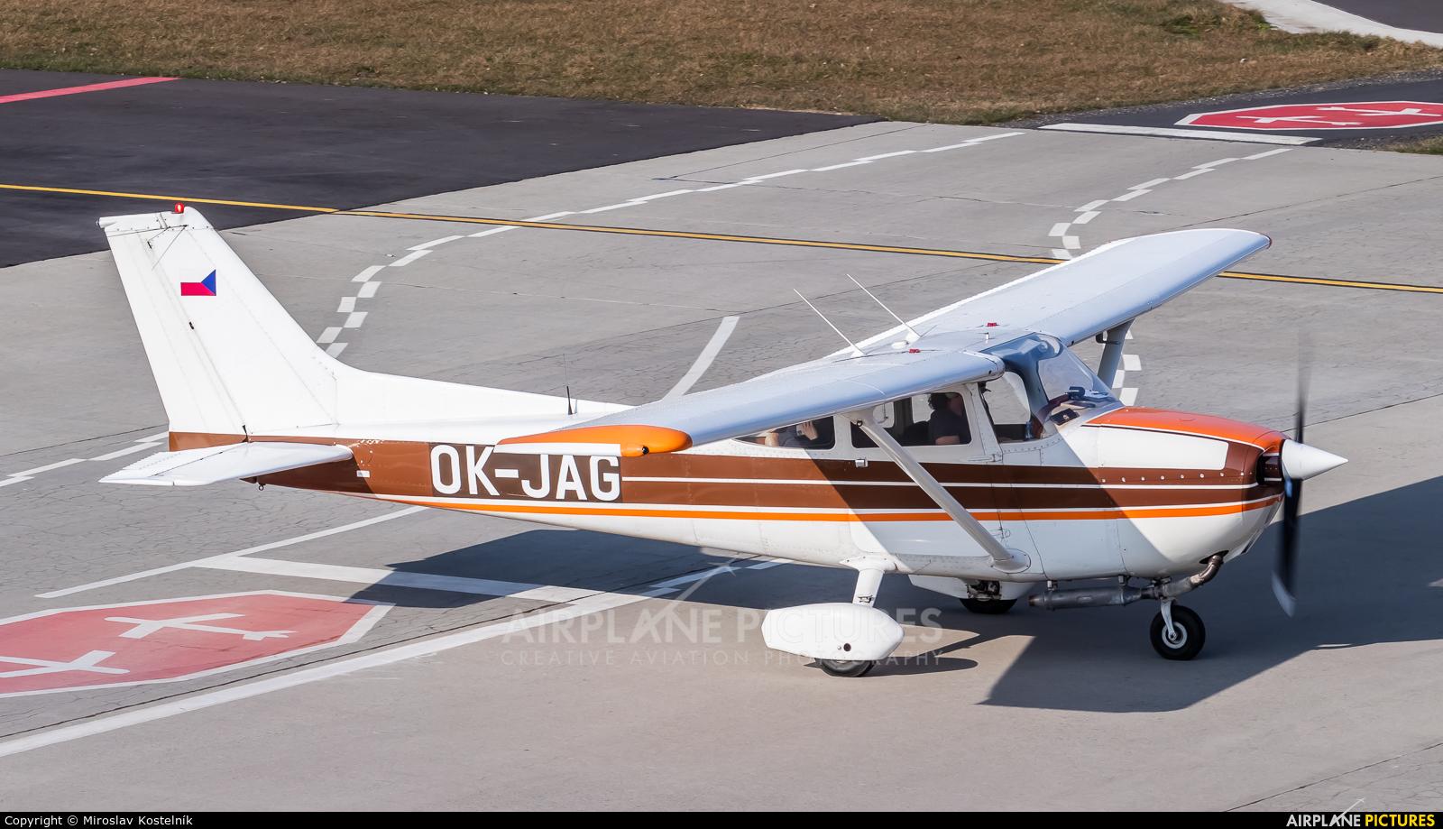 Private OK-JAG aircraft at Ostrava Mošnov