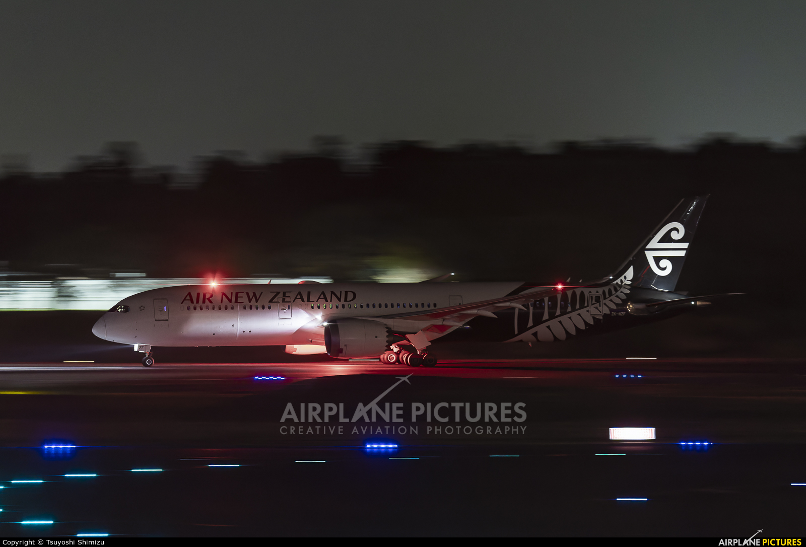 Air New Zealand ZK-NZF aircraft at Tokyo - Narita Intl