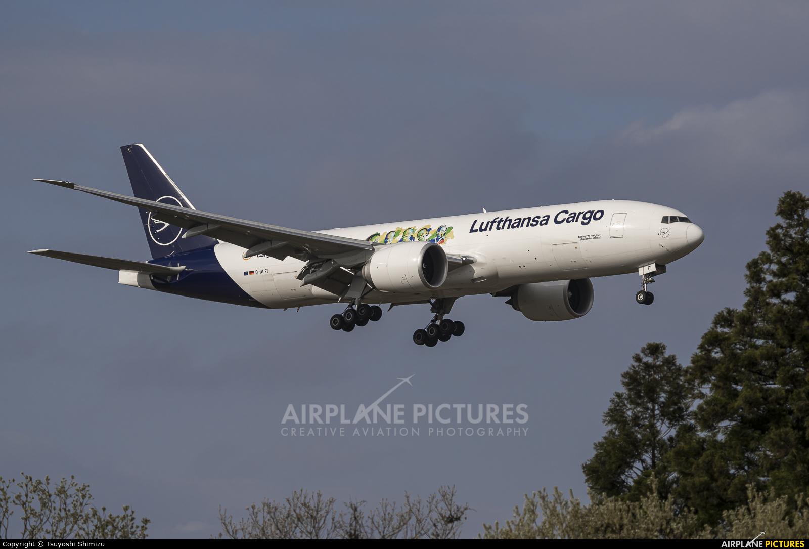 Lufthansa Cargo D-ALFI aircraft at Tokyo - Narita Intl