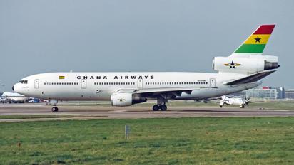 9G-PHN - Ghana Airways McDonnell Douglas DC-10-30