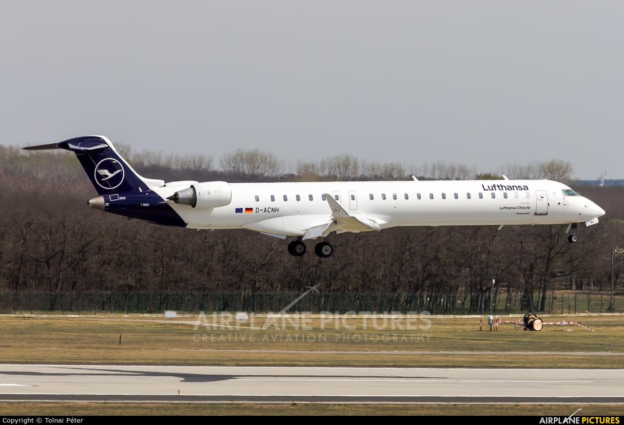 Lufthansa Regional - CityLine D-ACNH aircraft at Budapest Ferenc Liszt International Airport