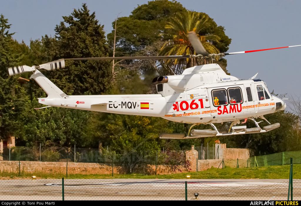 Babcock Aerospace EC-MQV aircraft at Palma de Mallorca