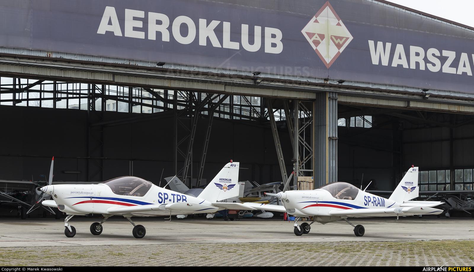 Aeroklub Warszawski SP-TPB aircraft at Warsaw - Babice