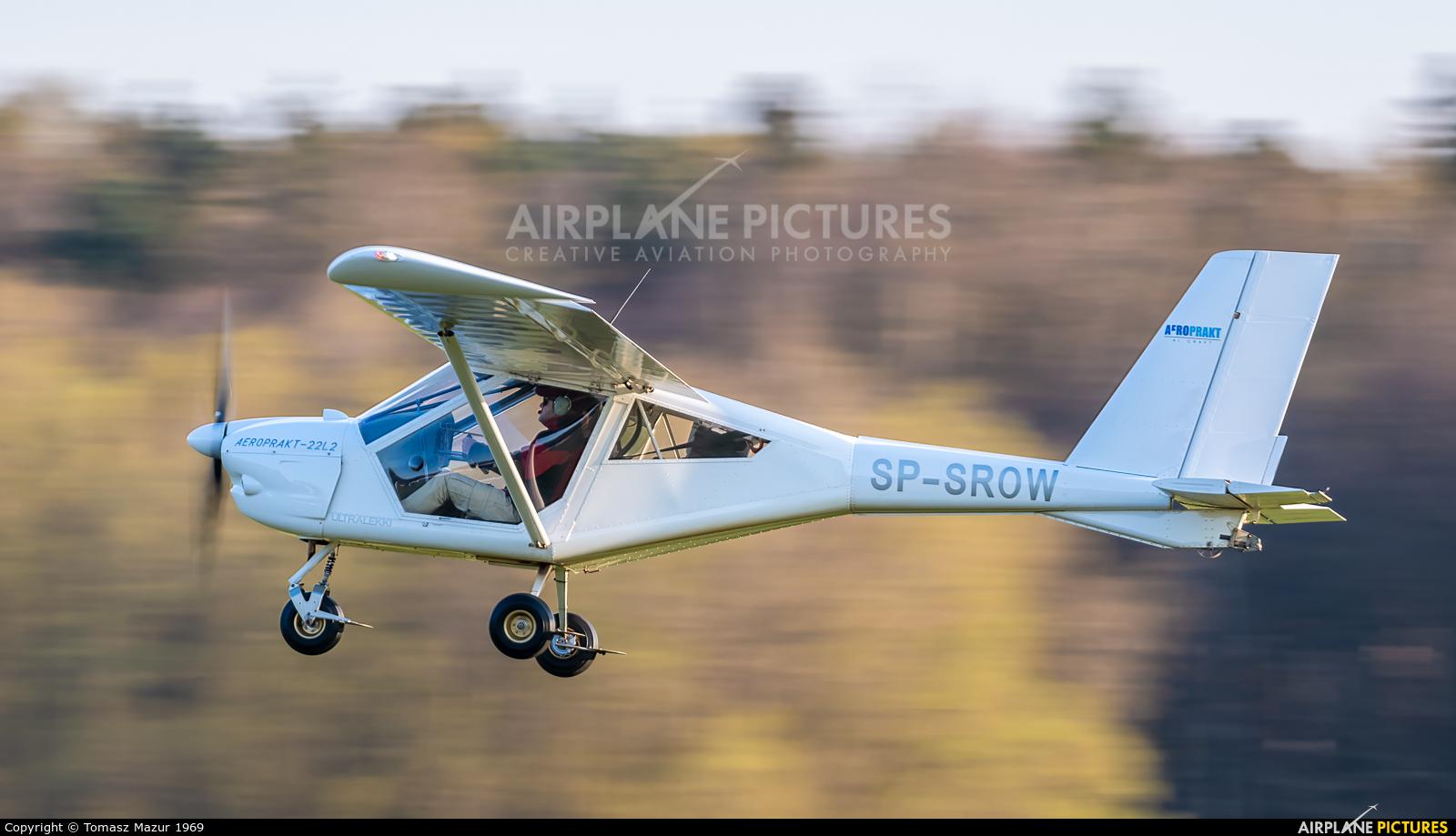 Aeroklub Rybnickiego Okręgu Węglowego SP-SROW aircraft at Rybnik - Gotartowice