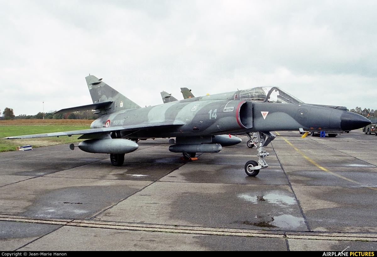 France - Navy 14 aircraft at Kleine Brogel