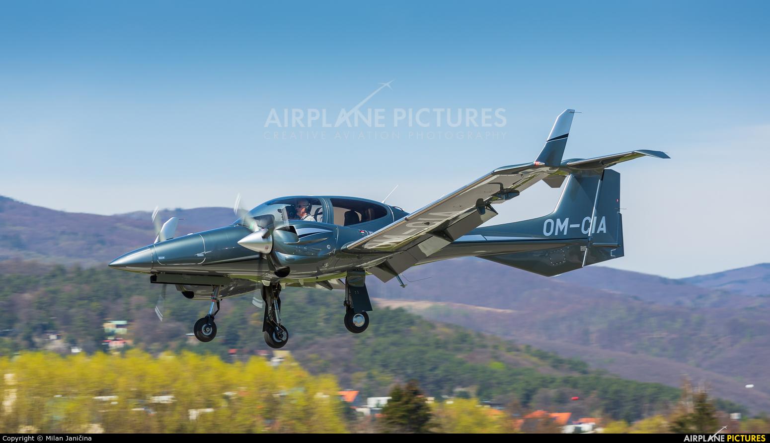 Private OM-CIA aircraft at Prievidza