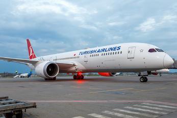 TC-LLE - Turkish Airlines Boeing 787-9 Dreamliner