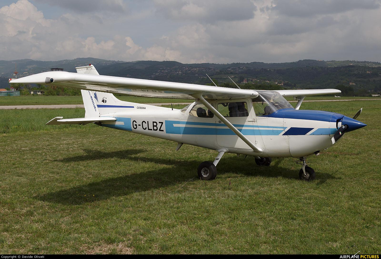 Private G-CLBZ aircraft at Verona - Boscomantico