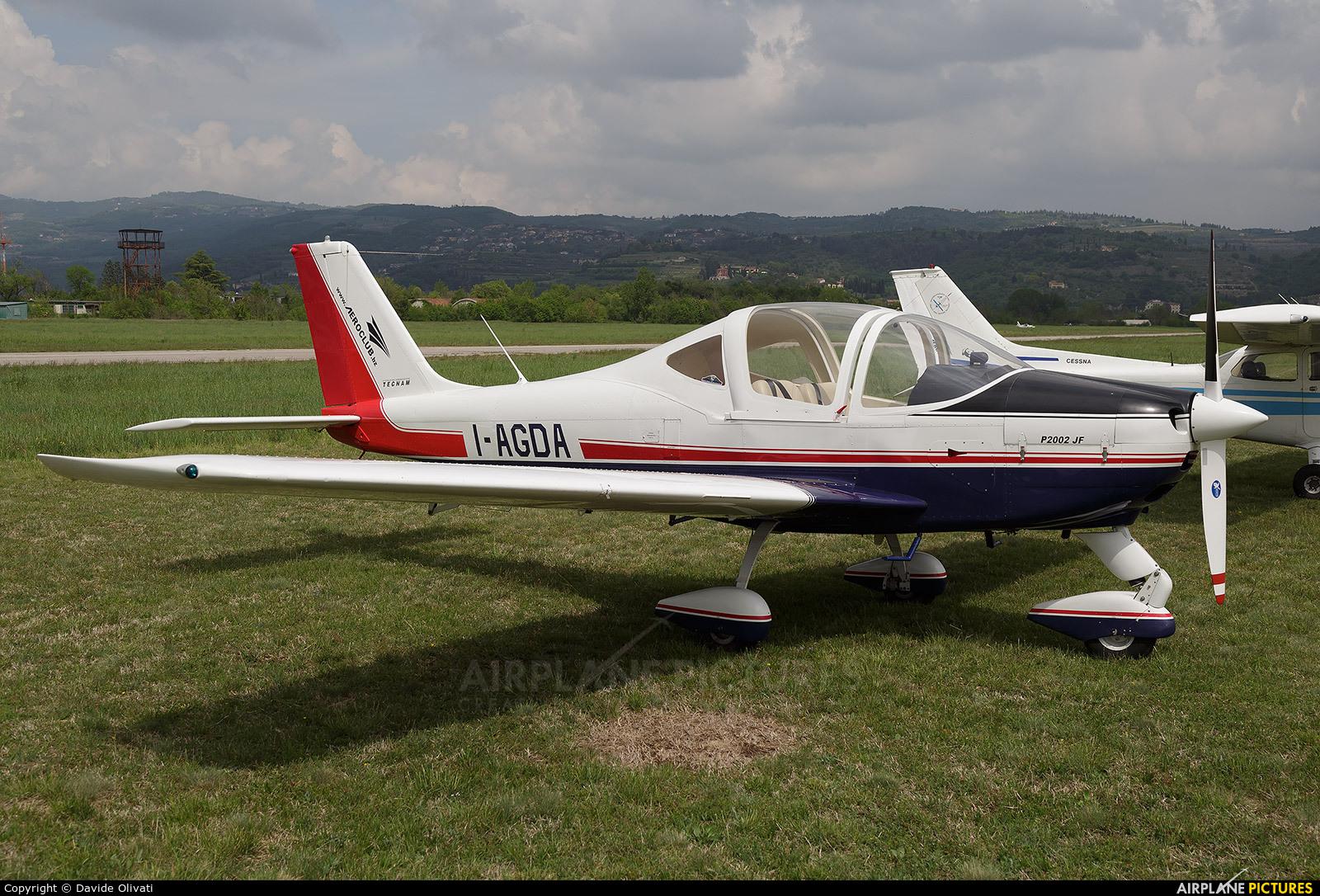 Private I-AGDA aircraft at Verona - Boscomantico