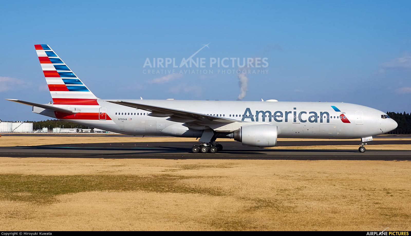 American Airlines N793AN aircraft at Tokyo - Narita Intl
