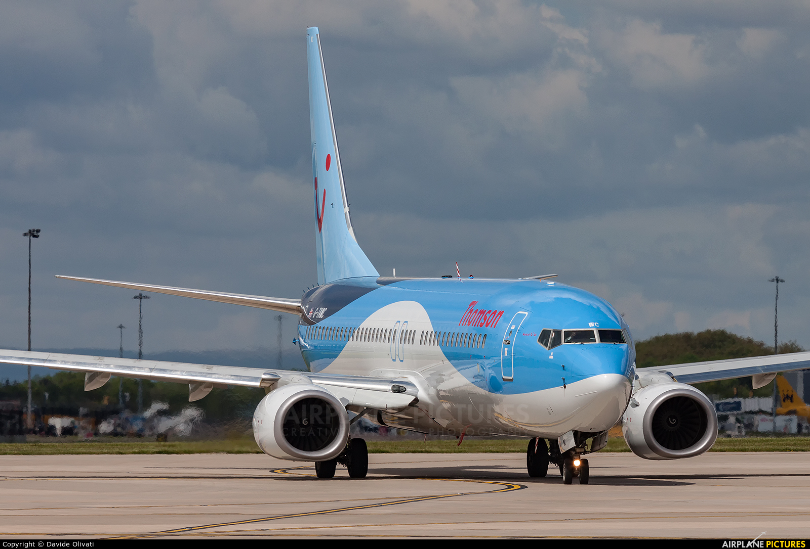 TUI Airways G-TAWC aircraft at Manchester