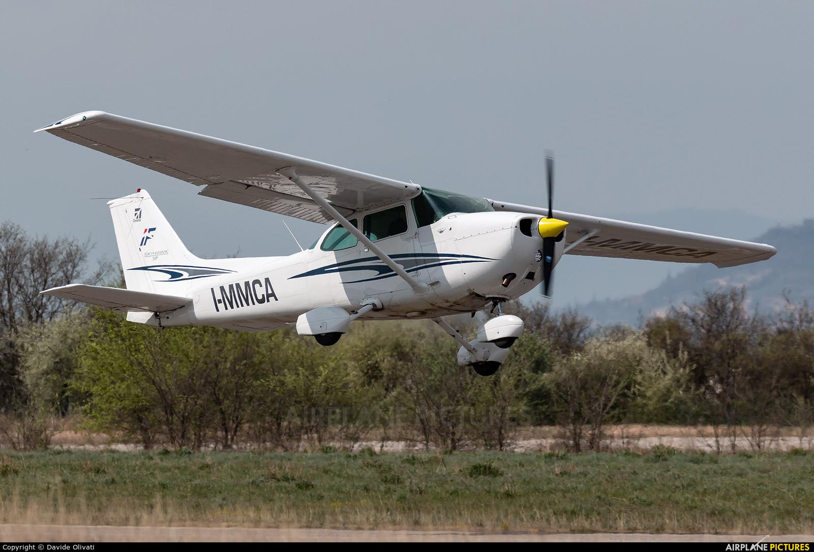Private I-MMCA aircraft at Verona - Boscomantico