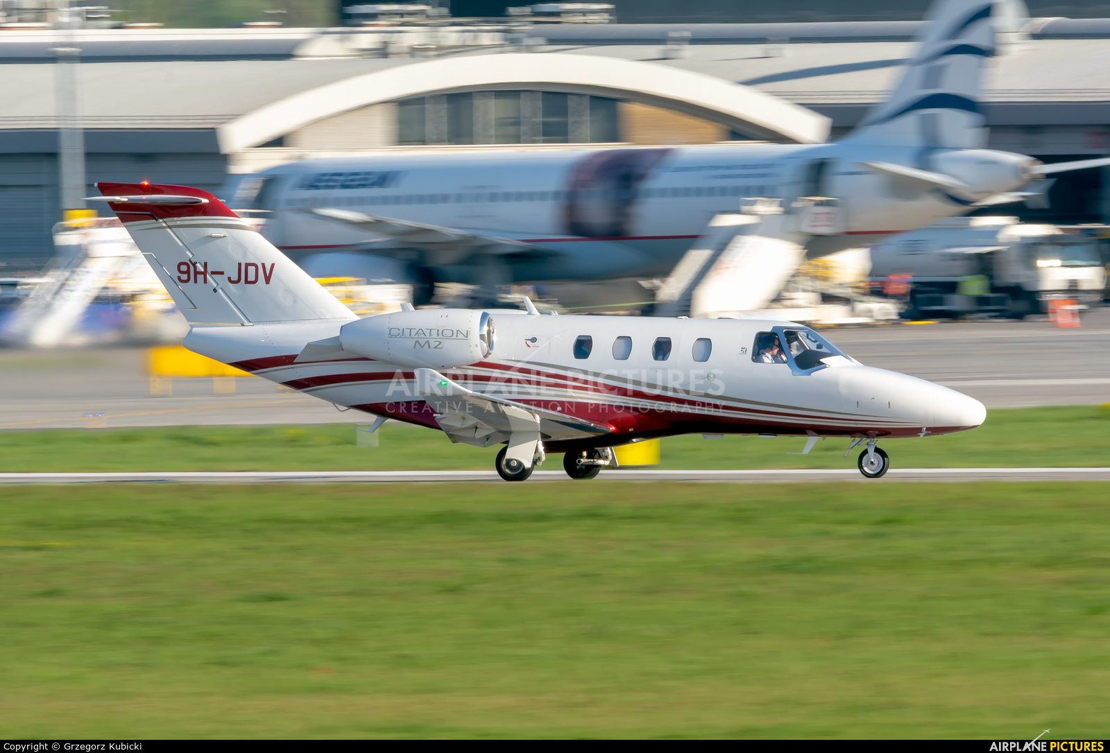 NextGen Aviation 9H-JDV aircraft at Kraków - John Paul II Intl