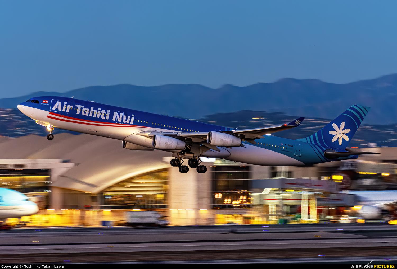 Air Tahiti Nui F-OSEA aircraft at Los Angeles Intl