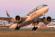 A7-BFU - Qatar Airways Cargo Boeing 777F aircraft