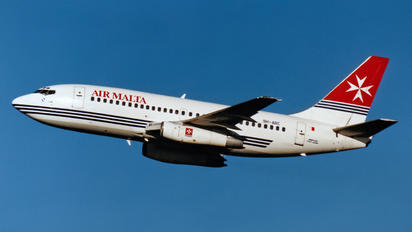 9H-ABE - Air Malta Boeing 737-200