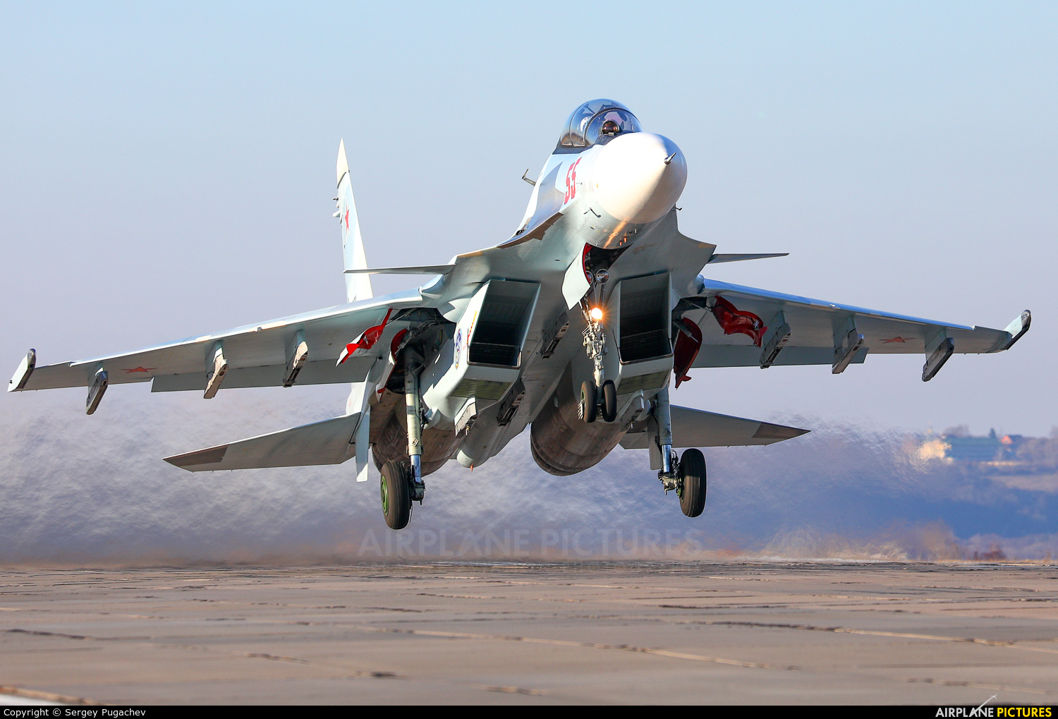 Russia - Air Force 55 aircraft at Undisclosed Location