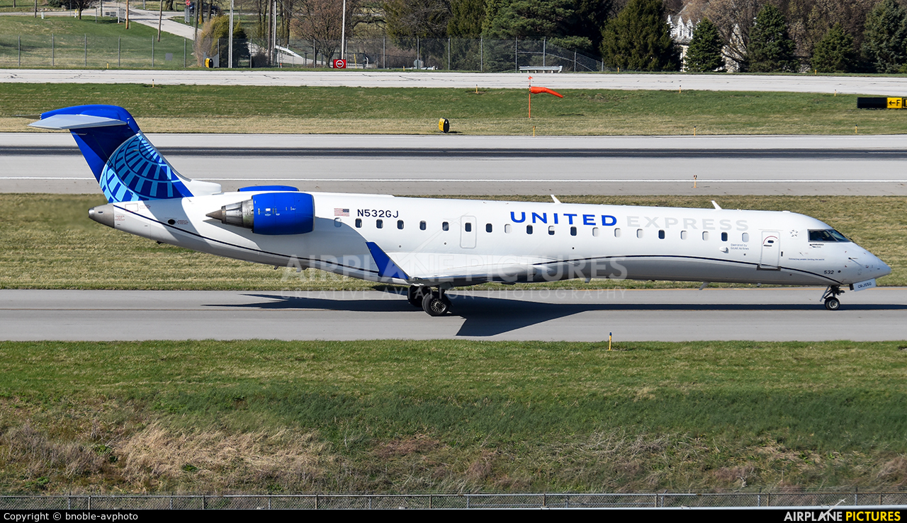 United Express N532GJ aircraft at Columbus - Port Columbus Intl
