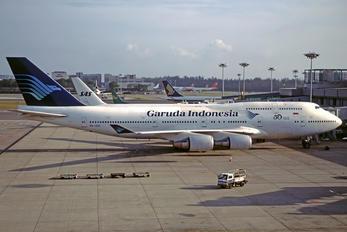 PK-GSI - Garuda Indonesia Boeing 747-400