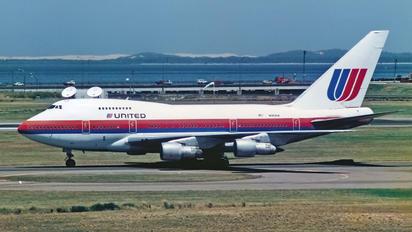 N143UA - United Airlines Boeing 747SP