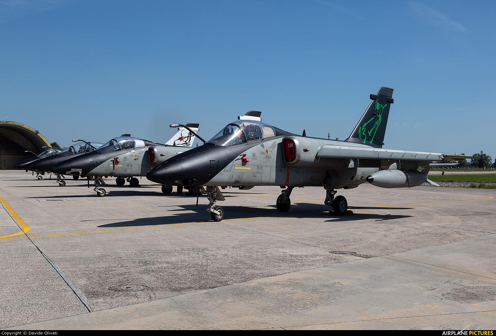 Italy - Air Force MM7114 aircraft at Treviso - Istrana