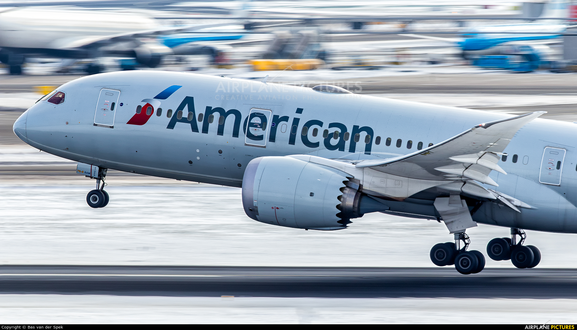 American Airlines N811AB aircraft at Amsterdam - Schiphol