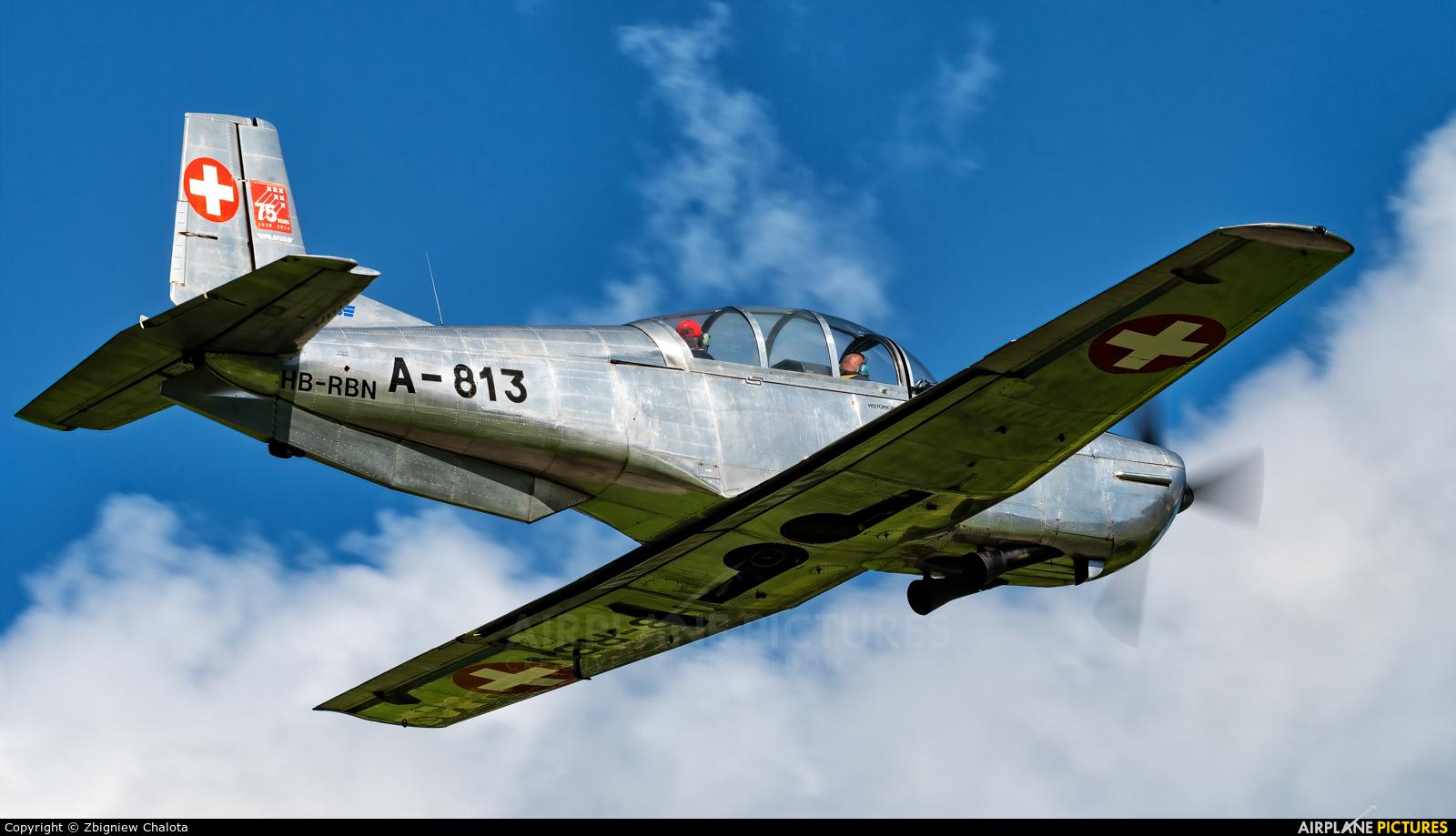 Private HB-RBN aircraft at Mollis