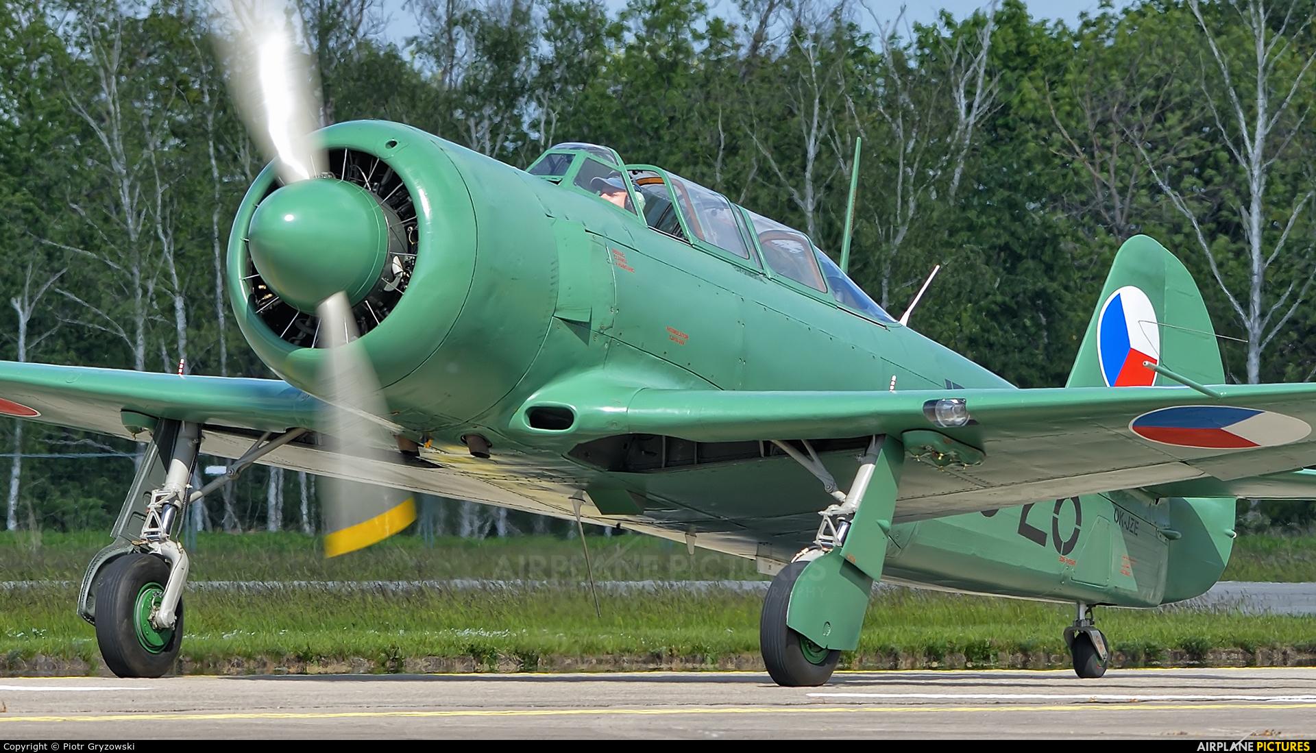 Private OK-JZE aircraft at Hradec Králové