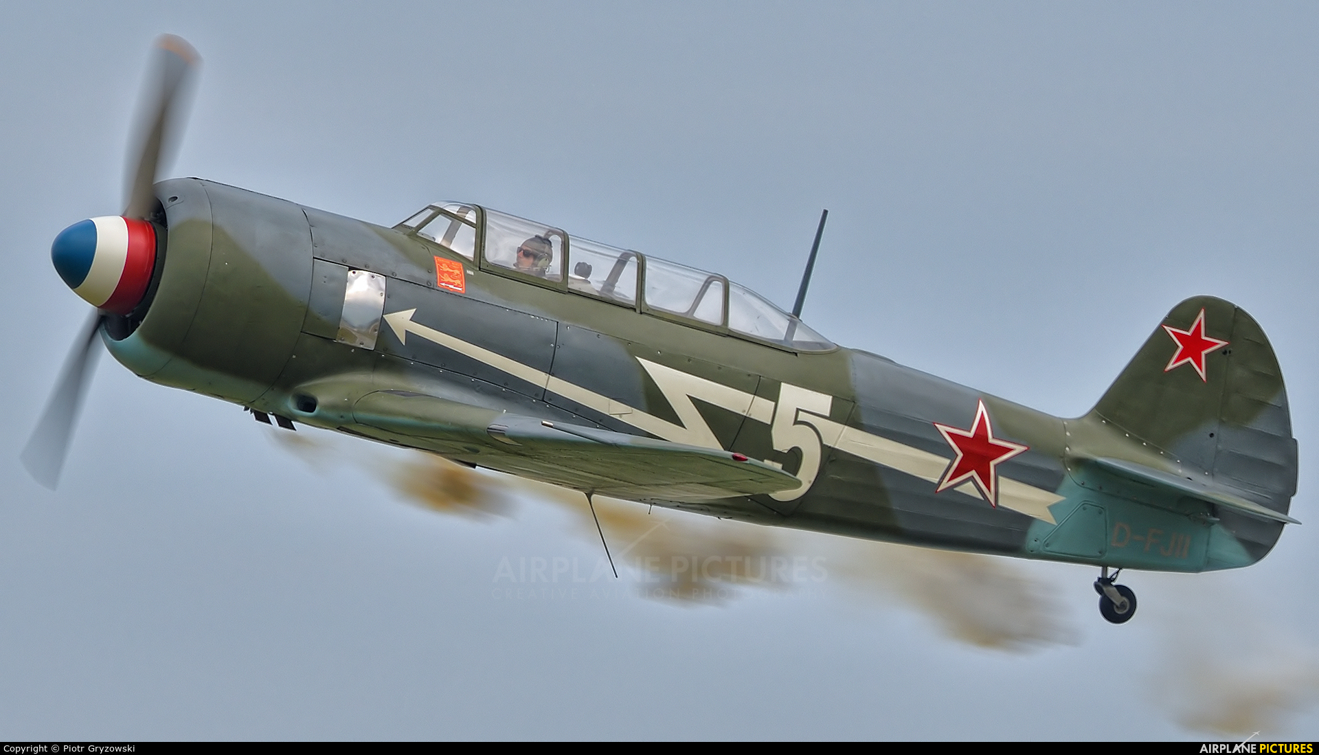 Private D-FJII aircraft at Varazdin