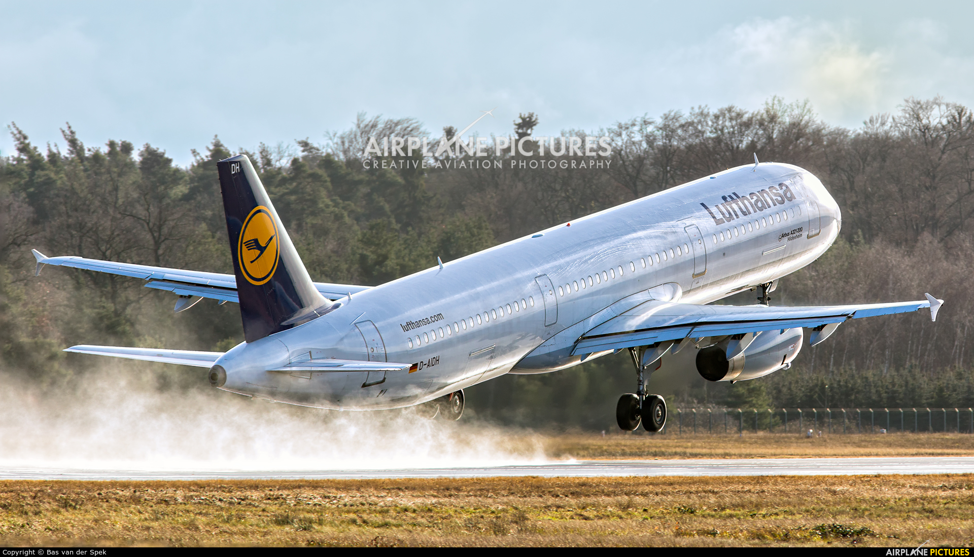 Lufthansa D-AIDH aircraft at Frankfurt