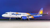 N204NV - Allegiant Air Airbus A320 aircraft