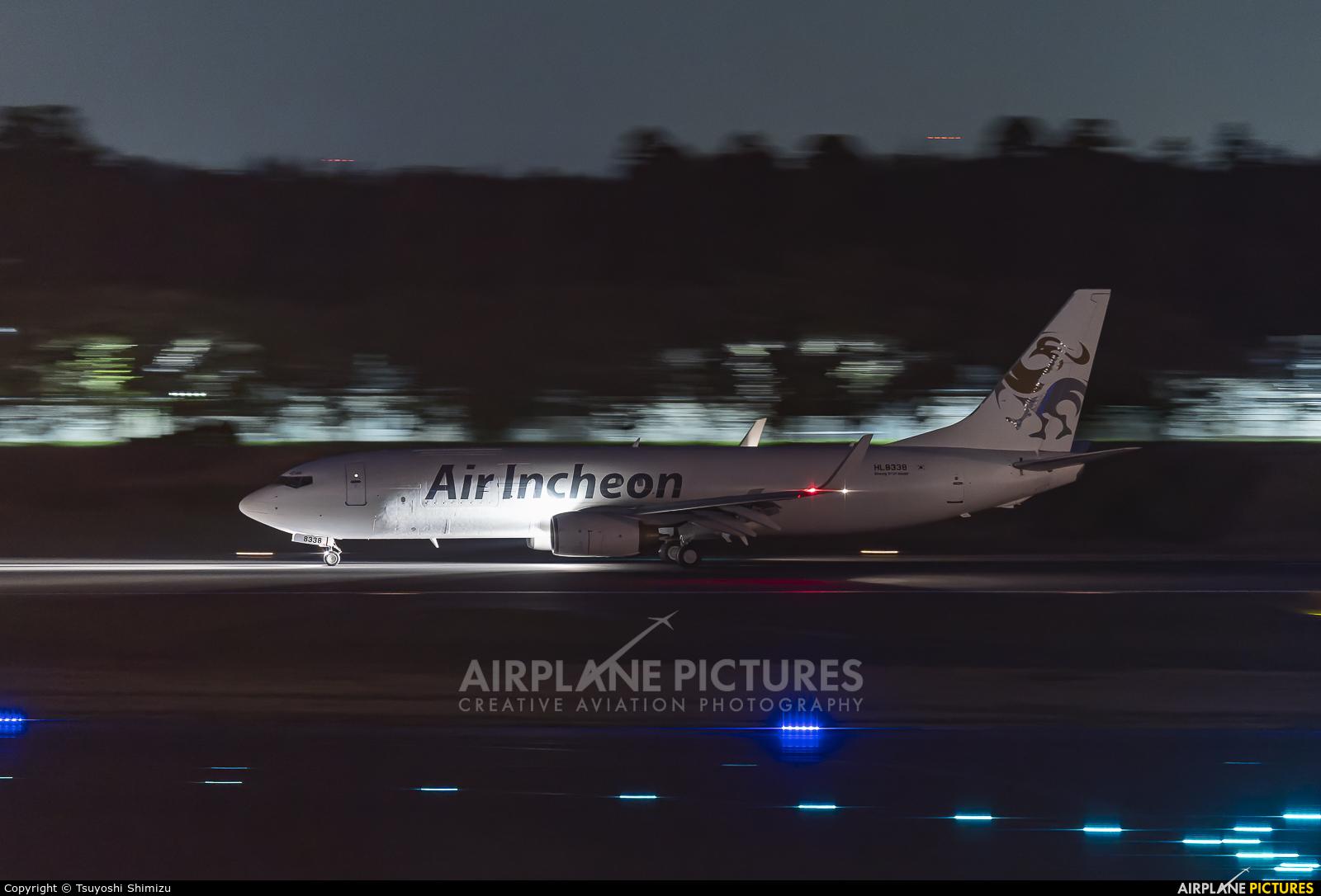 Air Incheon HL8338 aircraft at Tokyo - Narita Intl