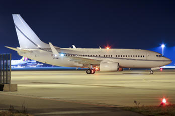 VP-BWR - Private Boeing 737-700 BBJ
