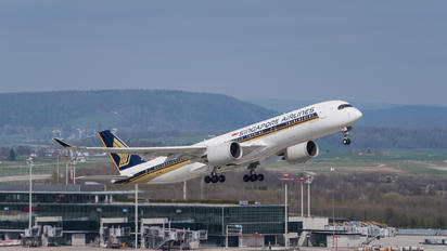 9V-SMS - Singapore Airlines Airbus A350-900
