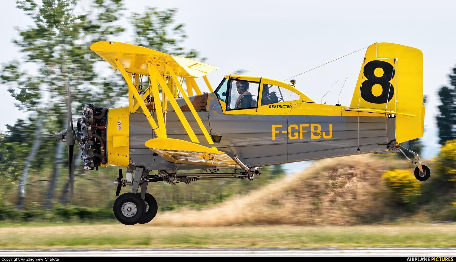 Private F-GFBJ aircraft at Orange - Caritat