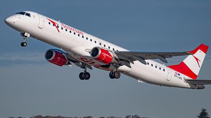OE-LWM - Austrian Airlines/Arrows/Tyrolean Embraer ERJ-195 (190-200)