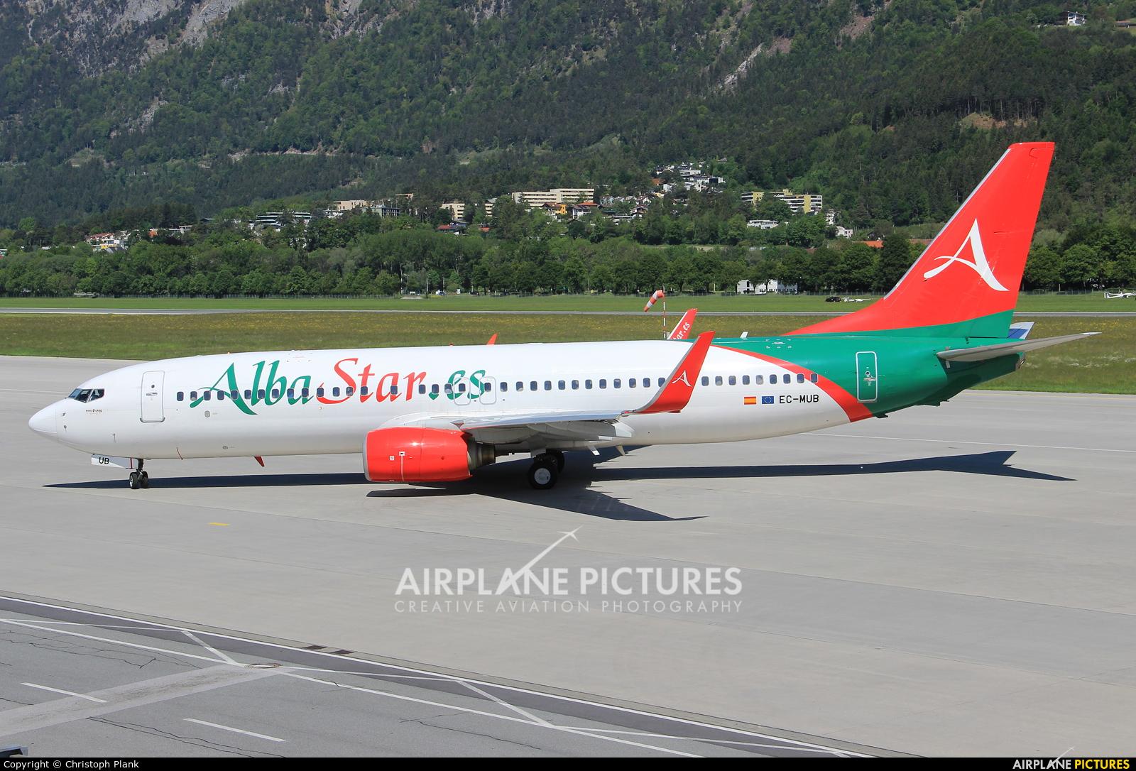 AlbaStar EC-MUB aircraft at Innsbruck