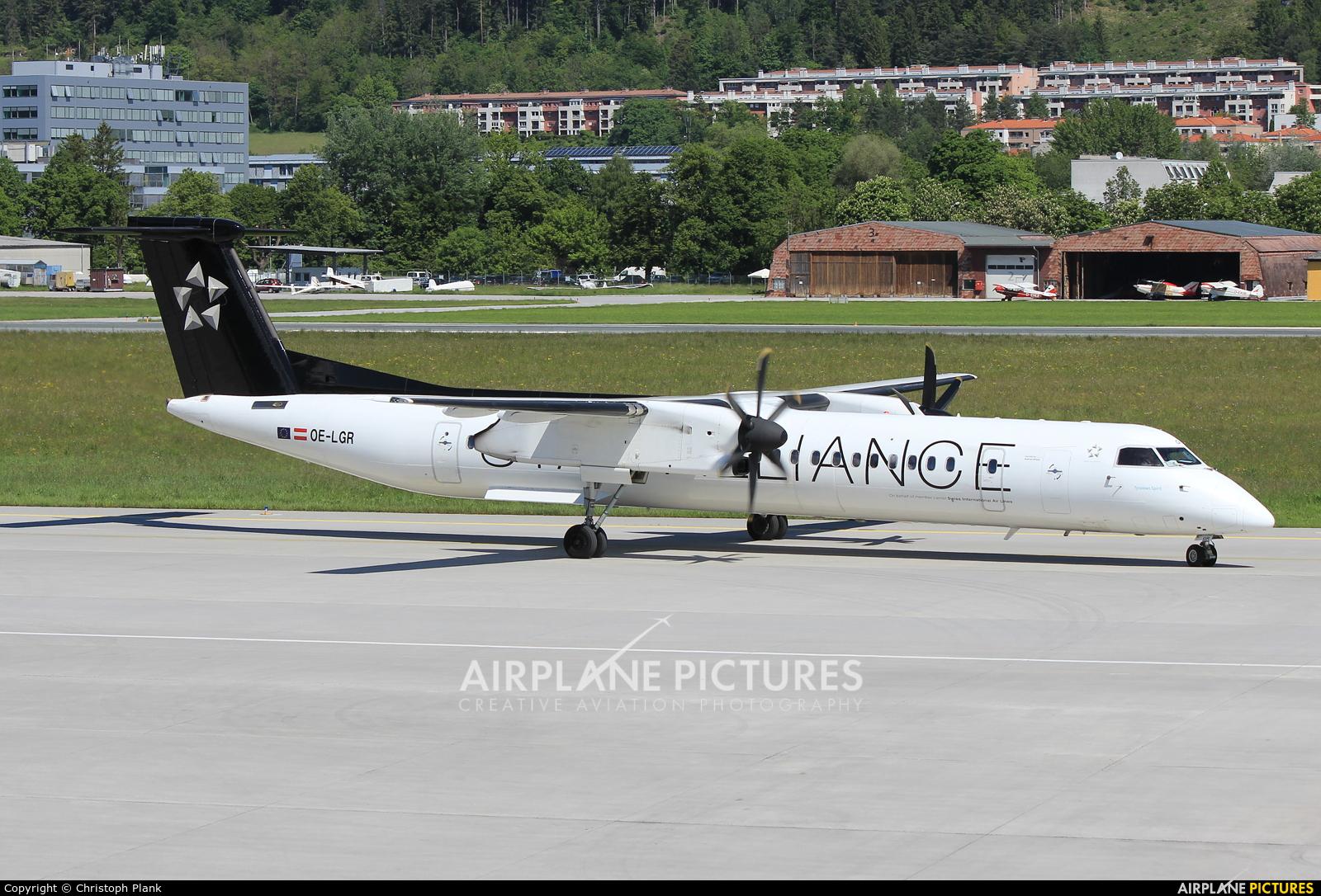 Austrian Airlines/Arrows/Tyrolean OE-LGR aircraft at Innsbruck