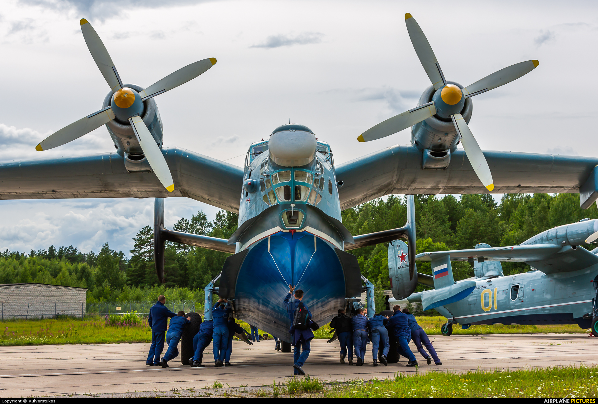 Russia - Navy 76 aircraft at Undisclosed Location