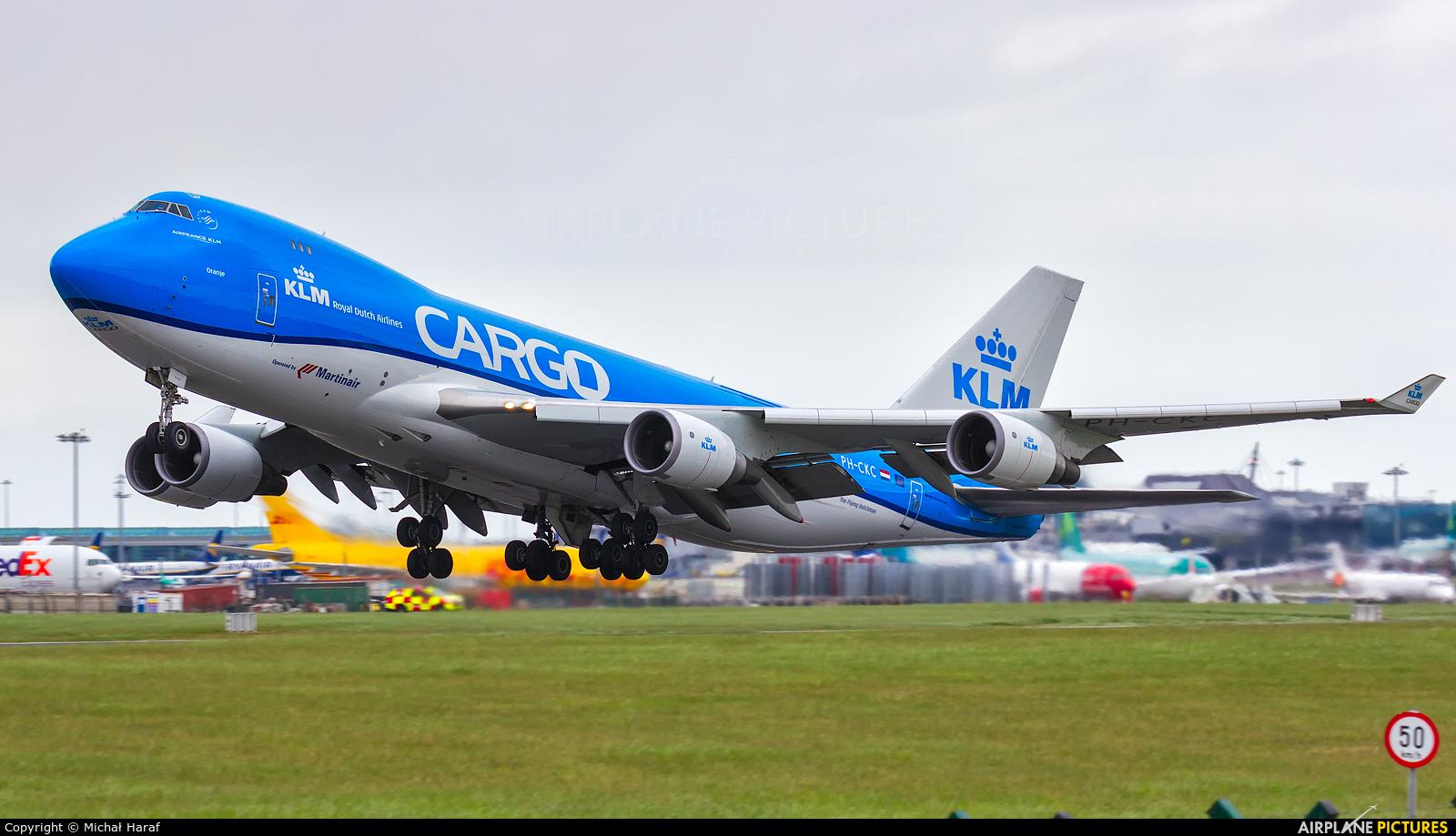 KLM Cargo PH-CKC aircraft at Dublin