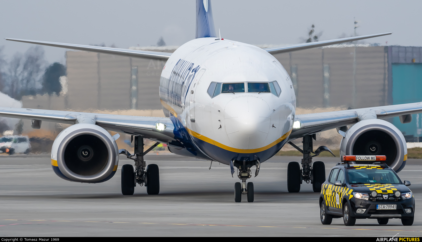 Ryanair Sun SP-RKL aircraft at Katowice - Pyrzowice