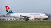 2-SSFG - South African Airways Airbus A319 aircraft
